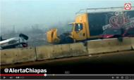 Video: Accidente en vía rápida Tuxtla – Ocozocoautla, sentido Coita – Tuxtla