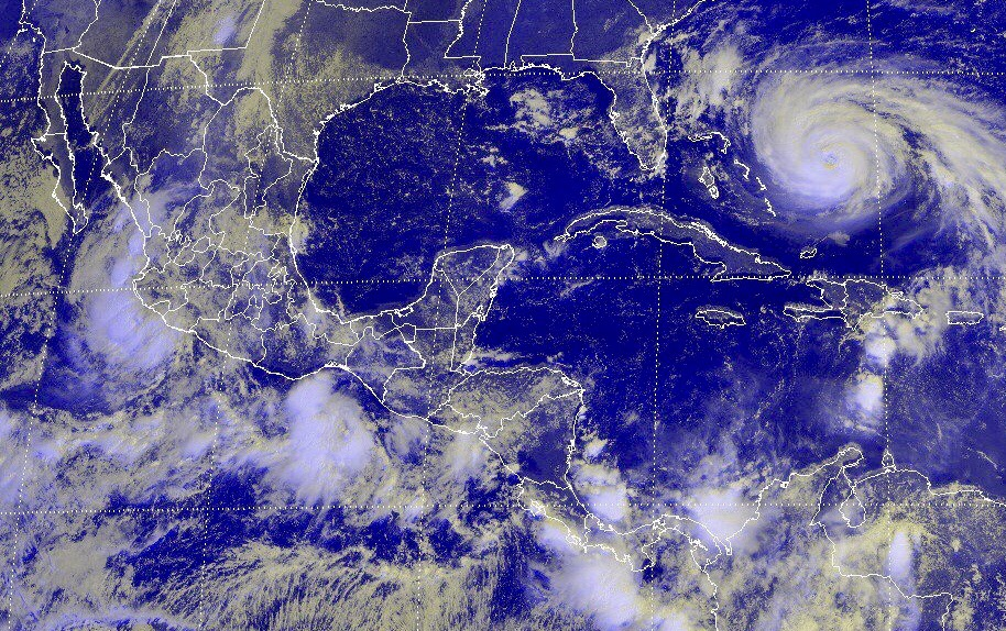 Tormentas intensas en Coahuila, Puebla, Veracruz, Oaxaca y Chiapas