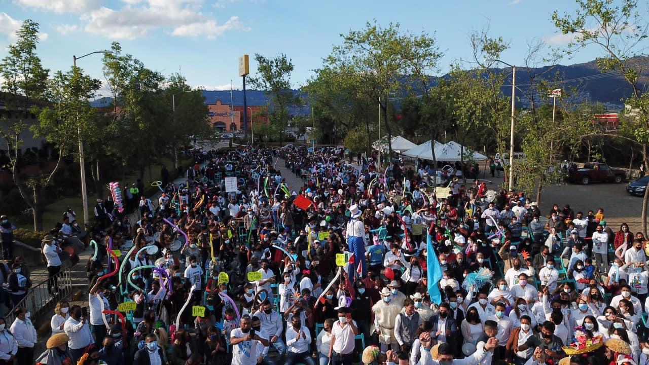 "Despite the pandemic, ""Chiapas Unido"" organized a mega rally in San Cristóbal de Las Casas WhatsApp Image 2021 03 15 at 1.21.17 PM"